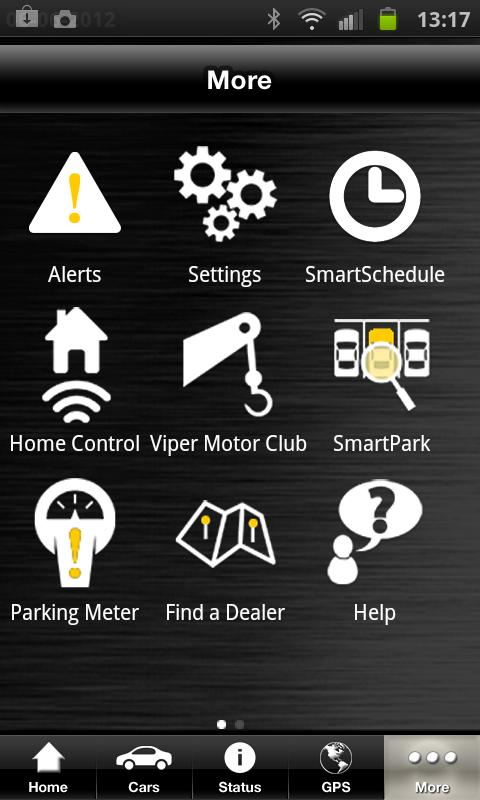 Viper SmartStart - screenshot