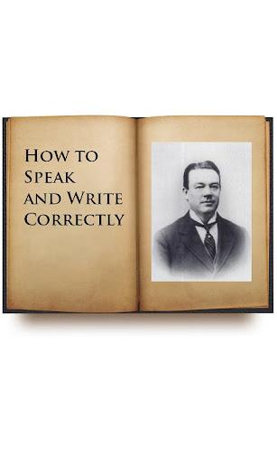 How to Speak and Write audio