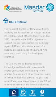 UAE LiveSolar screenshot