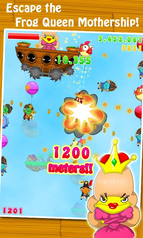 Pop the Frog- screenshot