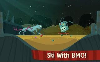 Screenshot of Ski Safari: Adventure Time