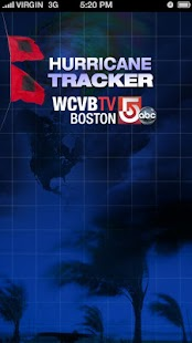 Hurricane Tracker WCVB Boston - screenshot thumbnail
