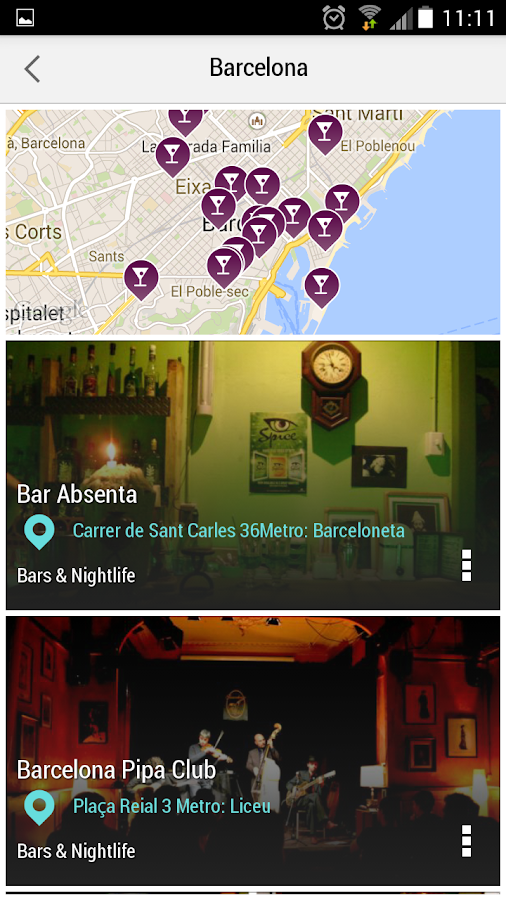 Barcelona City Guide- screenshot