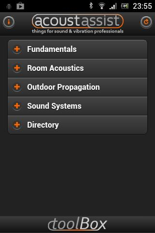 toolBox for acoustics