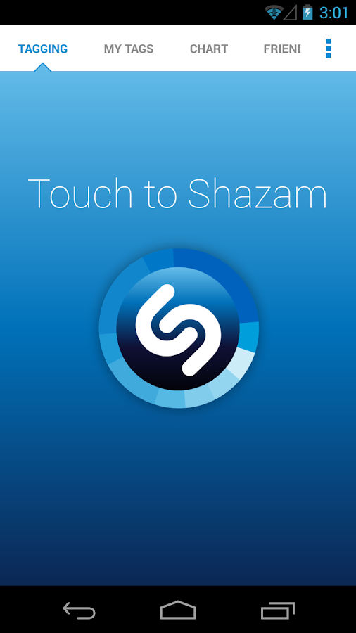 Shazam - screenshot