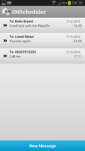 SMScheduler