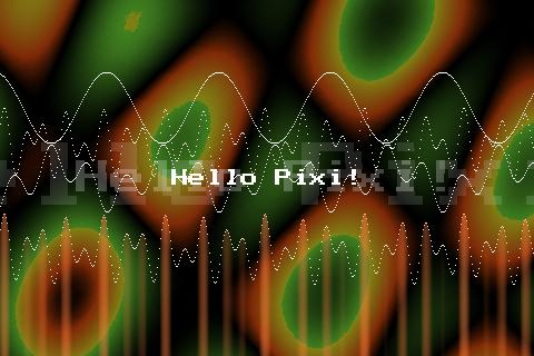 Pixilang- screenshot
