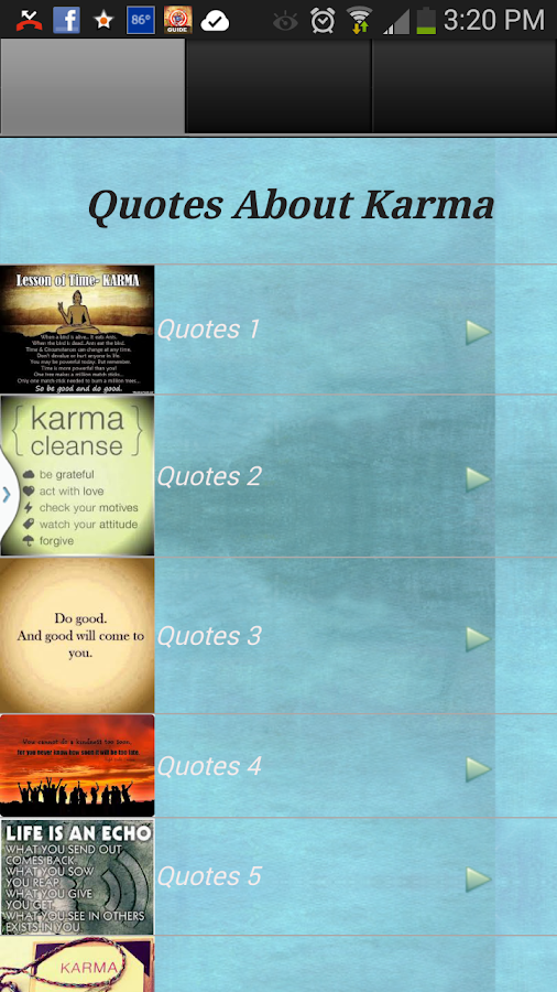 Quotes About Karma - screenshot