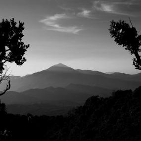 Tangkuban Perahu by Sudarmanto Edris - Black & White Landscapes