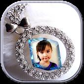 Diamond in Photo Frame