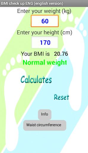 免費健康App BMI & WAIST CheckUp ENG 阿達玩APP