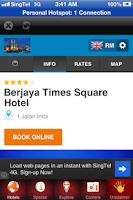 Screenshot of Malaysia Hotel
