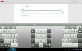 Screenshot of A.I.type Tablet Keyboard Plus