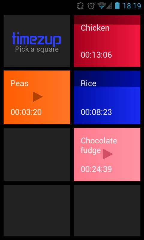 Timezup - Talking Timer- screenshot