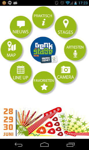 Genk on stage – Official app