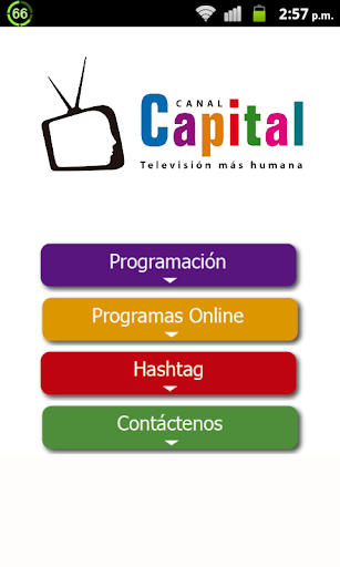Programación Canal Capital