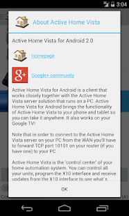 Active Home Vista - screenshot thumbnail