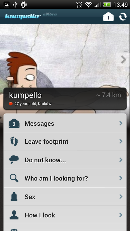 kumpello gay dating community- screenshot