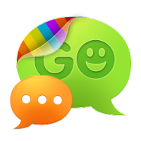 GO SMS Pro Purple theme 1.0