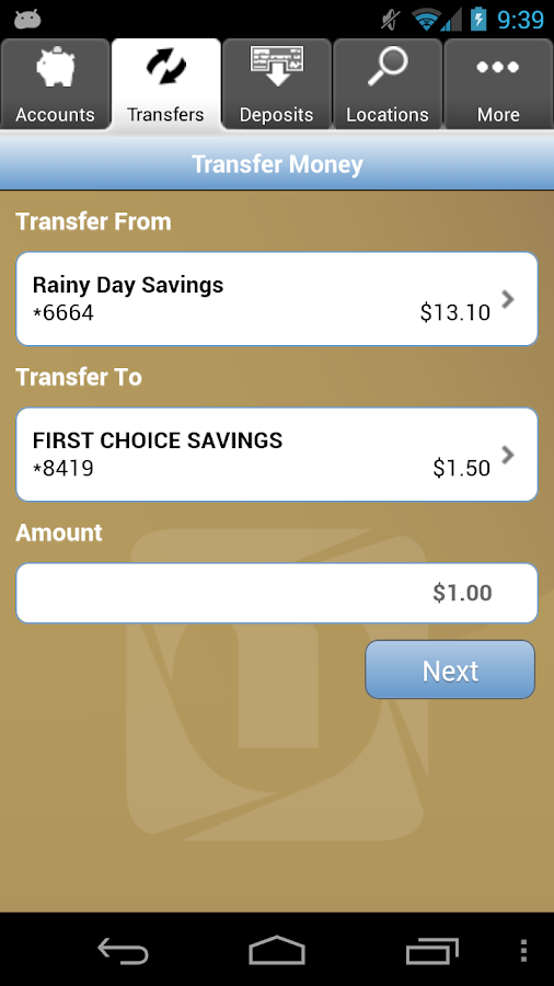 FNB Mobile Banking- screenshot