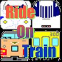 RideOnTrain logo
