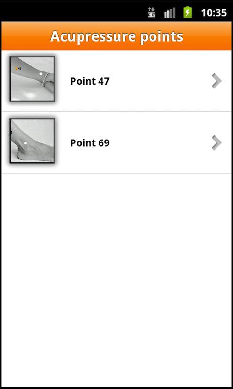 AcuApp® Basic - screenshot
