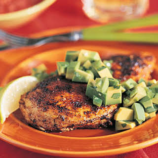 Seared Chicken with Avocado.