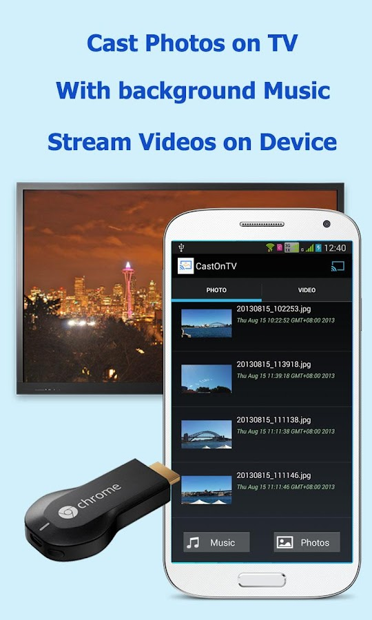 CastOnTV Free for Chromecast- screenshot