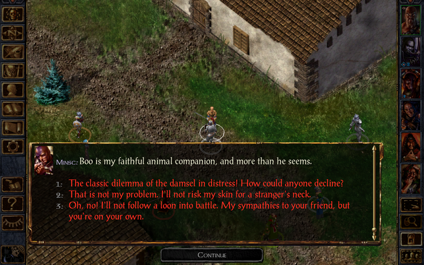 Baldur's Gate Enhanced Edition - screenshot