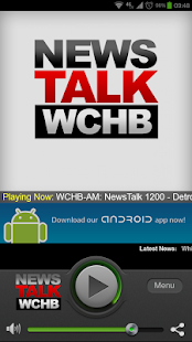 NewsTalk 1200 & 99.9 FM WCHB - screenshot thumbnail