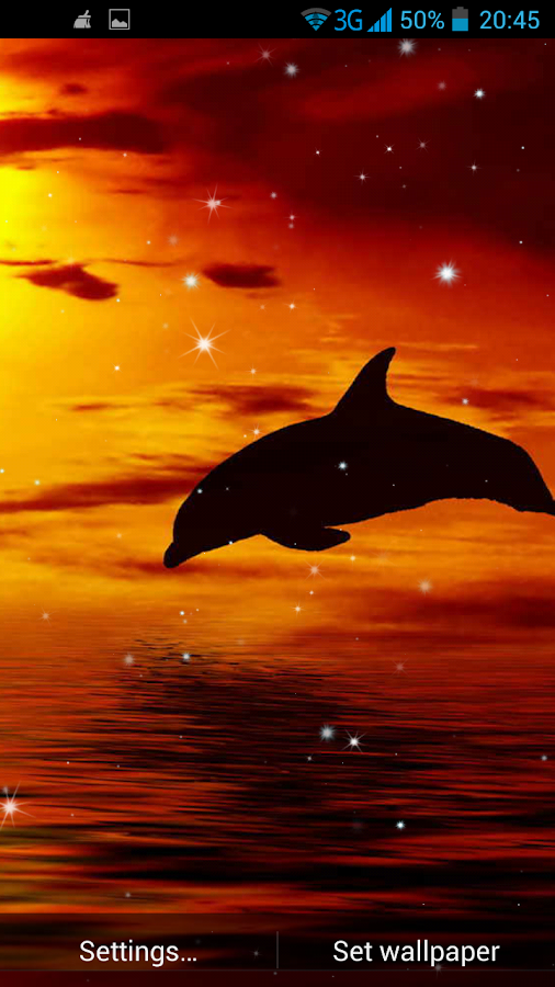 Dolphin 3D Live Wallpaper - Android Apps on Google Play