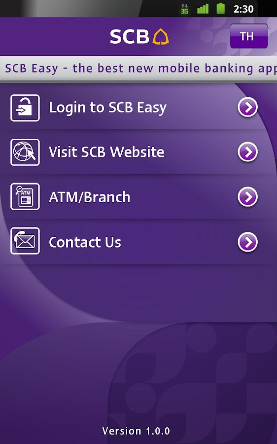 SCB EASY for Tablet - screenshot