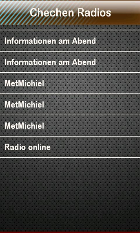 Chechen Radio Chechen Radios - screenshot