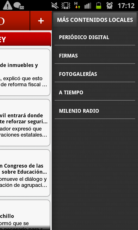 Milenio - screenshot