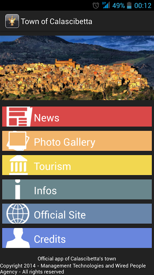 Town of Calascibetta- screenshot