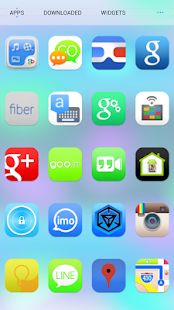 Ultimate iOS7 Launcher Theme - screenshot thumbnail