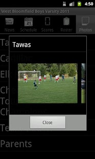 WBSoccer - Mobile- screenshot thumbnail
