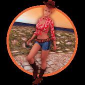 Farm Cowgirl Run