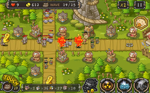 Defender - tower defence на Андроид