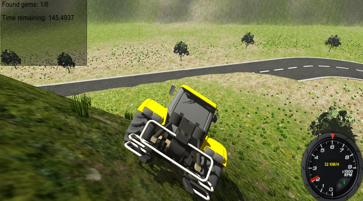 Construction Tractor Driver 3D - screenshot