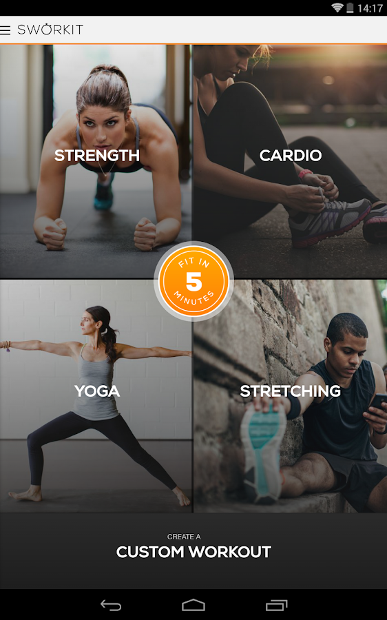 Sworkit Pro - Custom Workouts - screenshot