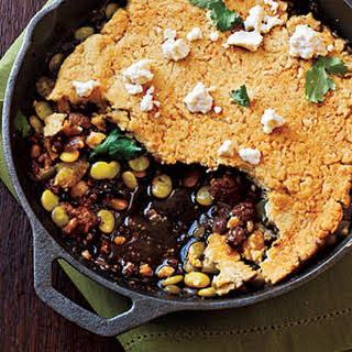 Green Chile Tamale Pie.