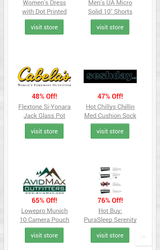 Coupon Codes And Savings