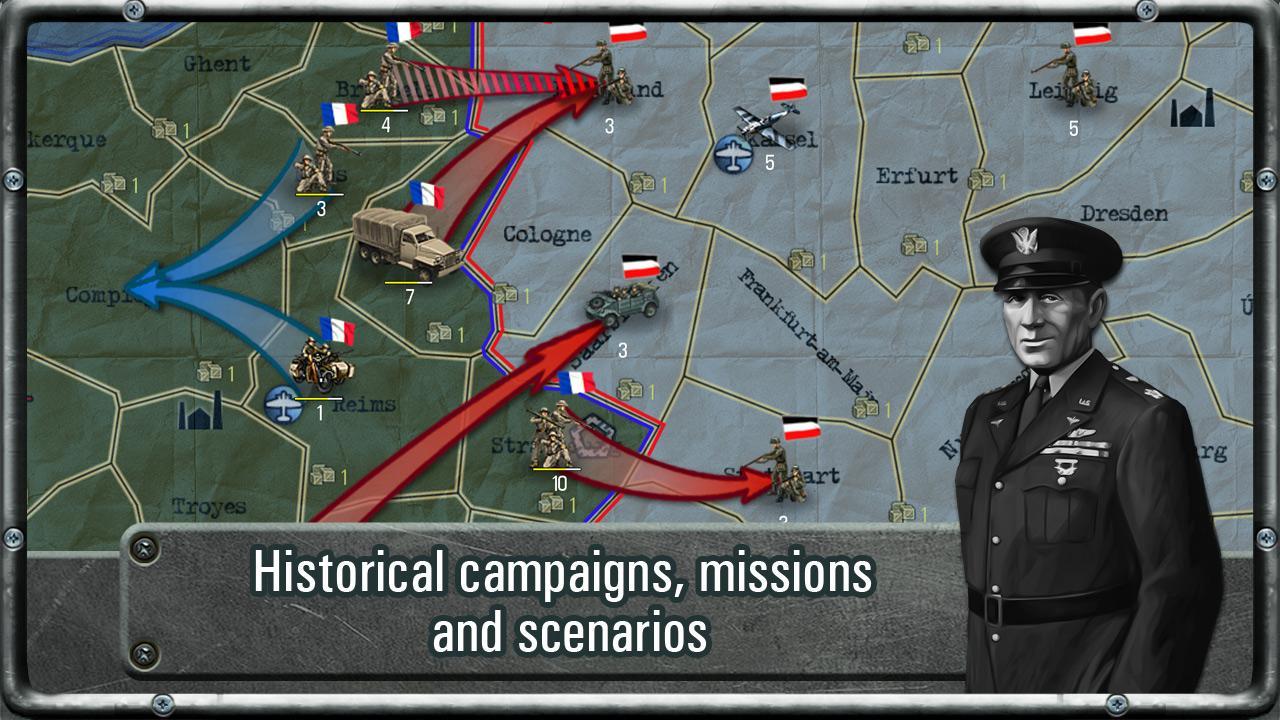 Strategy & Tactics: WW II- screenshot