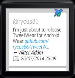 TweetWear Screenshot 2