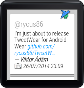 TweetWear- screenshot thumbnail