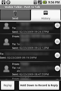 Walkie Talkie PTT Lite Screenshot 2