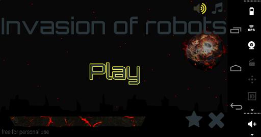 Invasion of robots