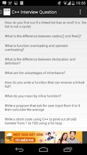 c++ interview question