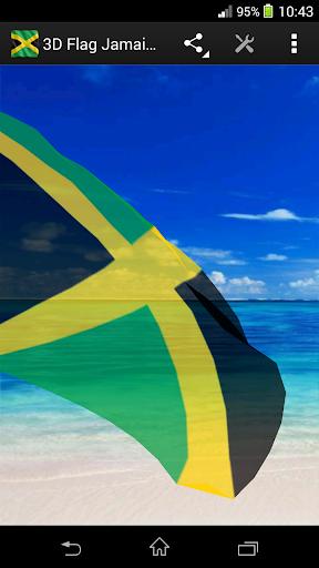 玩免費生活APP|下載3D Flag Jamaica LWP app不用錢|硬是要APP
